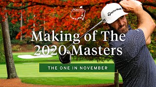 An unprecedented look at tournament, the one in november is inside days leading up to 2020 masters tournament. #themasters