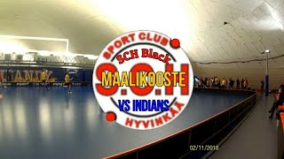 SCH Black vs Indians Maalikooste