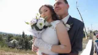 Свадебная прогулка молодых