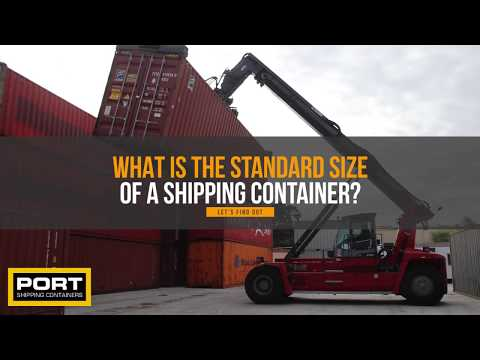 Shipping Container Dimensions – What is the Standard Size of a Container?