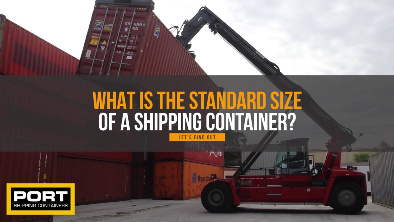 Shipping Container Dimensions | Shipping Container Sizes