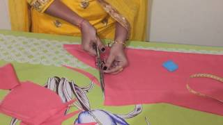Repeat youtube video Simple kurti/Kameez cutting at home very easily