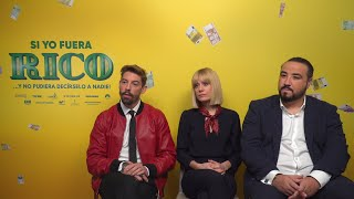 Adrián Lastra, Alexandra Jiménez y Franky Martin presentan 'Si yo fuera rico'