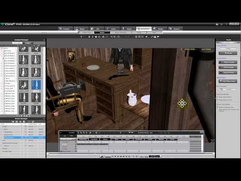 iClone Tutorial - Animation 01 - Teil 1
