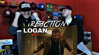 Logan trailer 2 reaction!