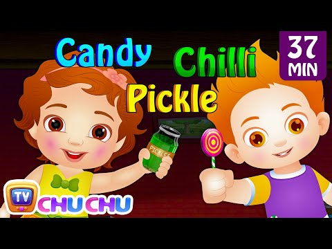 Thumbnail: The Taste Song & More Original Educational Learning Songs & Nursery Rhymes for Kids by ChuChu TV