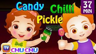 The Taste Song | Original Educational Learning Songs & Nursery Rhymes for Kids by ChuChu TV thumbnail