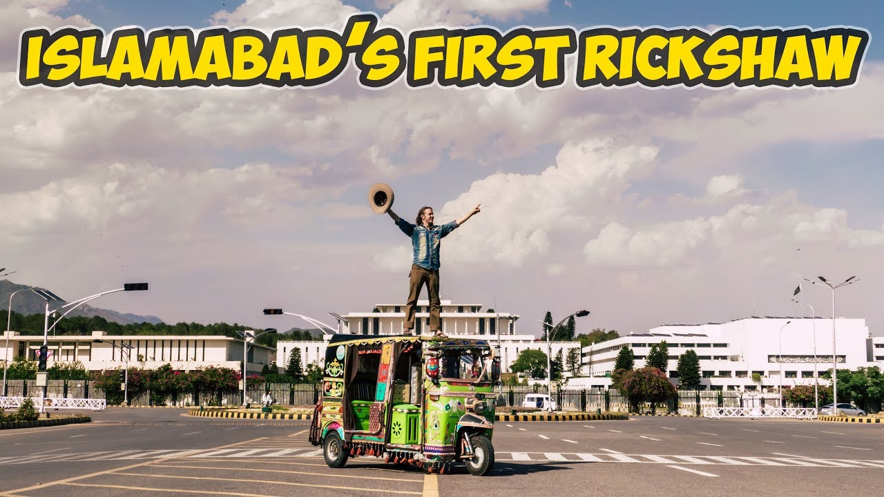 I entered a Rickshaw in Islamabad | American Rickshaw Wala | Episode 16
