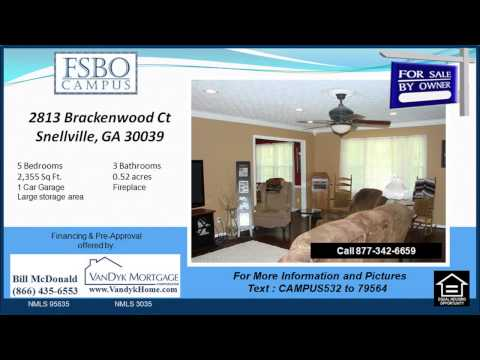 5 bedroom home for sale near Annistown Elementary School in Snellville GA