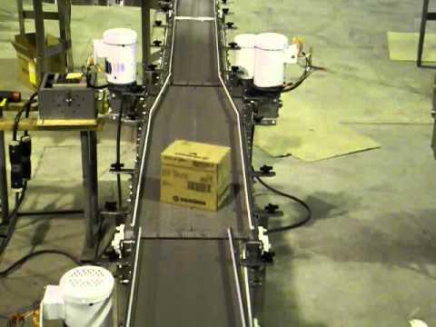 Box Turning By Dynamic Conveyor Youtube