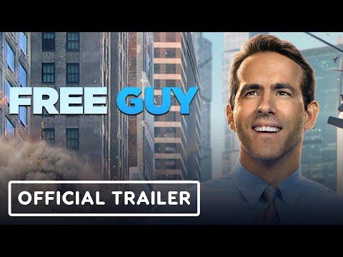 Free Guy - Official Trailer (2021) Ryan Reynolds, Jodie Comer
