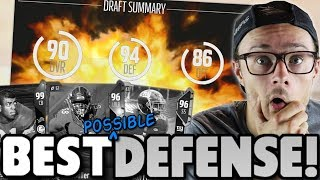 THIS IS THE BEST DEFENSE EVER DRAFTED!! Madden 18 Road To Elite