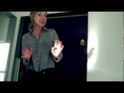 Ali Fedotowsky for OpenSky Discovery Week: Abstract Dot Blouse by Lovemarks