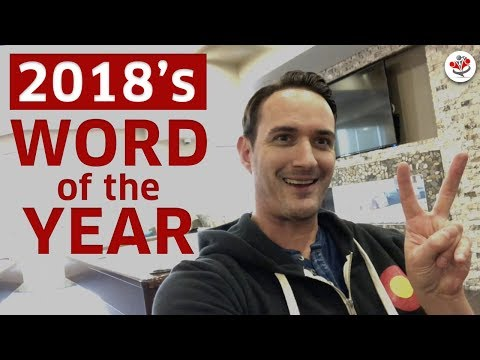 2018 WORD OF THE YEAR - Alternative to a New Year's Resolution