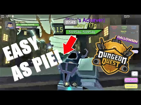 HOW TO BEAT GHASTLY HARBOR! Dungeon Quest (Roblox)