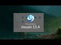 Environnement de bureau linux : Deepin 15.4