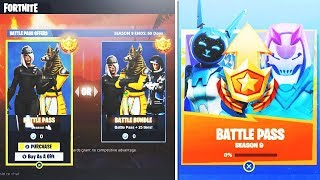"🔴 I BUY ALL THE COMBAT PAS ""SAISON 9"" on Fortnite!"