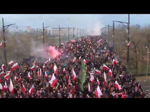 150,000 Polish Nationalists march against muslim immigration