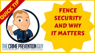 How To Prevent Burglars From Breaking Into Your Home - Keep Your Fences Locked!
