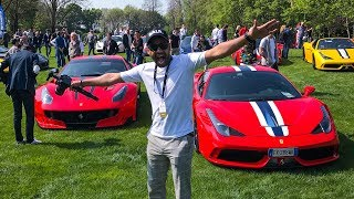 Where Are the Supercars!!? Cars and Coffee Italy Brescia 2017