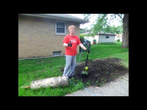 Electric Tiller Review Sun Joe Tj600e Youtube