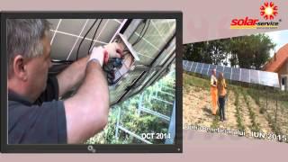 Montaj panouri fotovoltaice IDELLA la ferma de animale in Timis