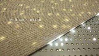 Люминесцентные ковровые покрытия