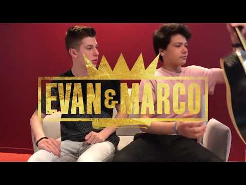 Evan et Marco  - Sing my life 🎵