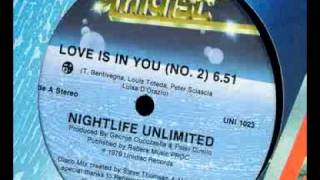 Nightlife Unlimited - Love Is In You (No 2) - UNI 1023