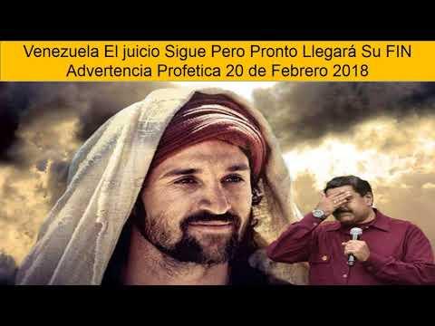 ADVERTENCIA PROFETICA 20 DE FEBRERO DE 2018