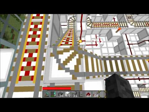 Automated Minecraft Train Station