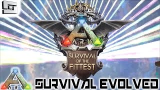 ARK: Survival Evolved - SURVIVAL OF THE FITTEST STREAM HIGHLIGHTS AND VLOG!