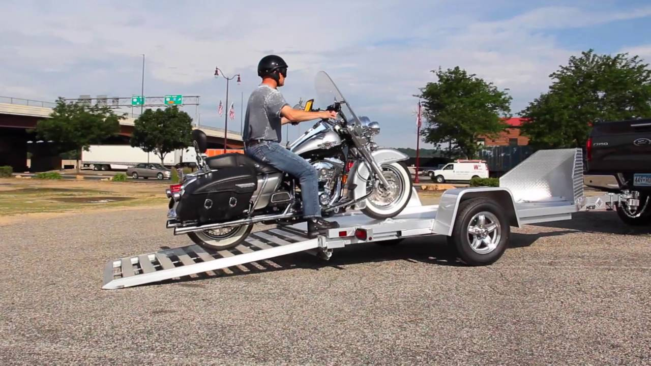 Motorcycle Towing Trailer