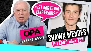 Opa schaut Musik - Shawn Mendes (If I Can't Have You)