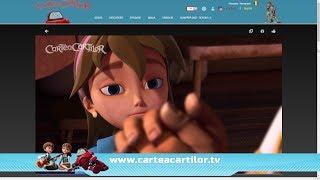 Site-ul pentru copii CarteaCartilor.TV