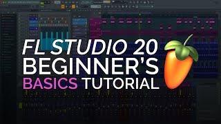 Fl Studio 20   Complete Beginner Basics Tutorial