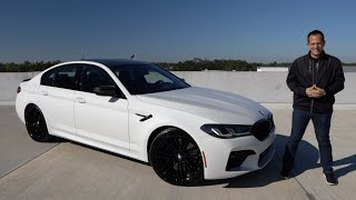 Is the 2021 BMW M5 Competition a performance sedan that's WORTH IT?