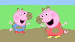 Peppa Pig English Episodes | Muddy Puddles! | 2 HOUR SPECIAL #PeppaPig