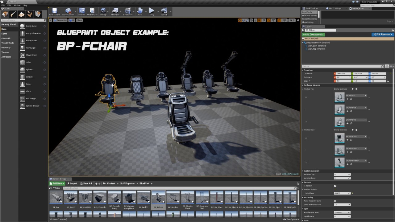 Ue4 scifi populate pack blueprint object example youtube ue4 scifi populate pack blueprint object example malvernweather Images