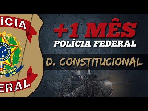 Direito Constitucional para Polícia Federal 2018 - Adriane Fauth - AlfaCon