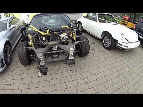 Небольшая частная кузовная мастерская в Германии