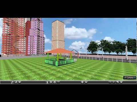 VRML Urban Environment