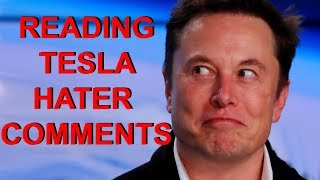 Reading Tesla Haters Funniest Comments