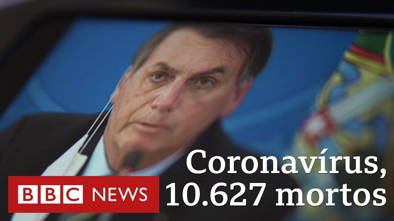 As declações de Bolsonaro na crise do coronavírus