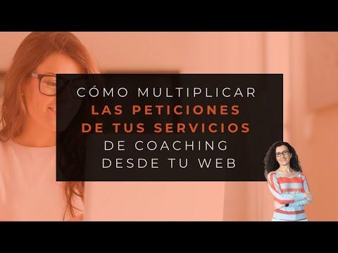 3 Claves para multiplicar las peticiones de tus Servicios de Coaching desde tu web - Mónica Moyano
