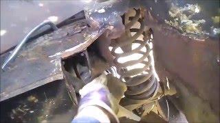 Ремонт кронштейна поперечной тяги(солдатика) ВАЗ 2101-07