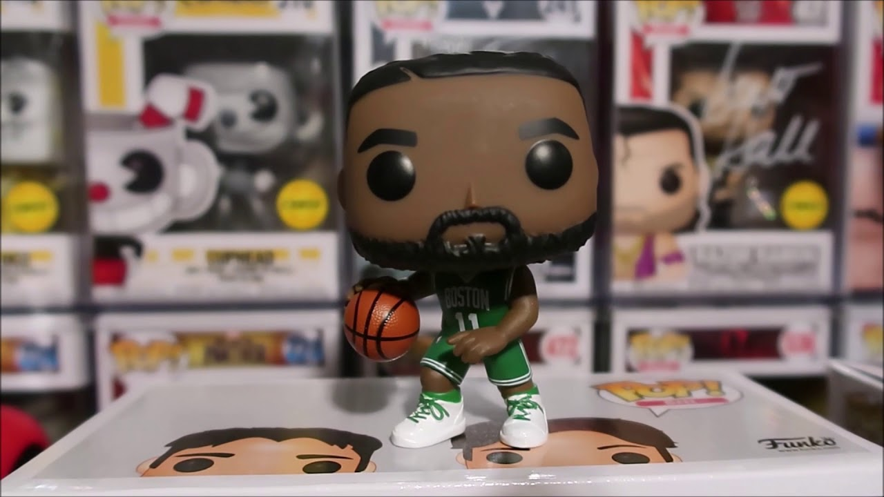 NBA KYRIE IRVING BOSTON CELTICS FUNKO POP UNBOXING REVIEW #nba #kyrieIrving  - YouTube