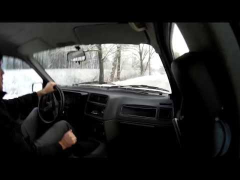 Ford Sierra Snow Drift