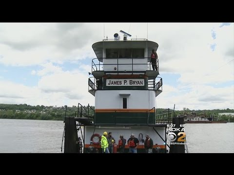 Barge Crew Rescues Family Trapped On Boat