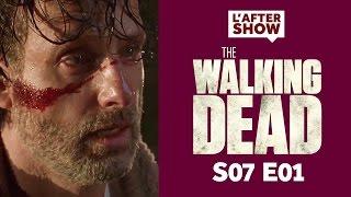 the walking dead saison 7 episode 1 ractions et thories after show 1 spoiler alert